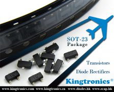 Kt Kingtronics SOT-23 Package Diodes and Transistors Support