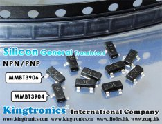 Kt Kingtronics NPN Silicon General Transistors MMBT3904 and